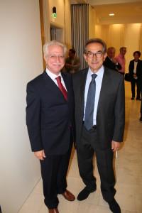 Ospiti d'eccellenza-Alessandro Candido dell'omonima azienda e Giuseppe Palumbo di Tormaresca