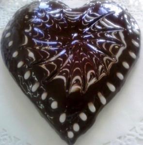Scarcella con copertura al cioccolato