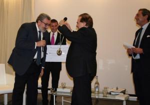 da sinistra- Il Governatore pugliese Michele Emiliano, Franco M Ricci, Attilio Romita