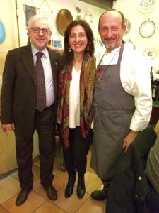Leonardo Manganelli, Emanuela Mastrodomenico e Beppe Schino a destra