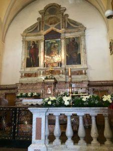 Altare della Chiesa Antica