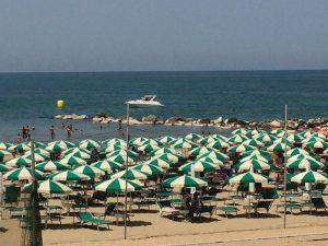 La spiaggia a 10 metri