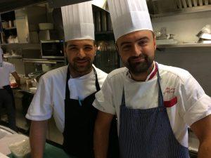 Da sinistra- Roberto Locantore e Mario Musci