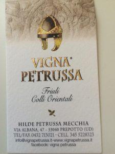 Indirizzo Vigna Petrussa