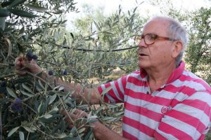 L'agronomo dott. Piero Preziosa