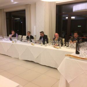 commissione di giornalisti-da sinistra, Paul Caputo, Daniele Scapicchio, Andrea de Palma, Gigi Brozzoni, Luciano Pignataro