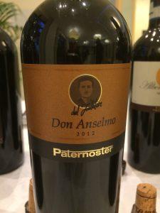 Paternoster, Aglianico del Vulture Doc 2012