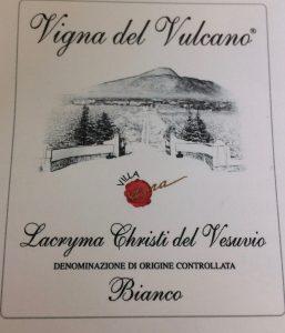 Vigna del Vulcano lacrima Cristi del Vesuvio